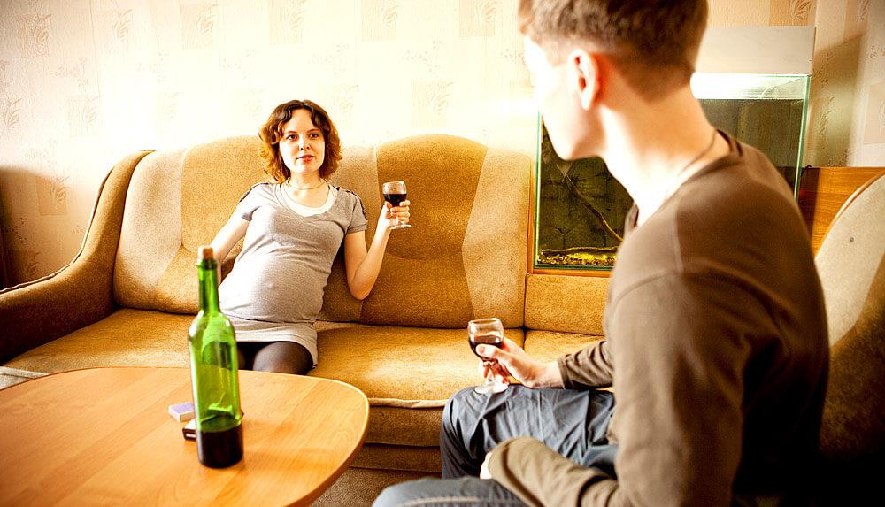 Alkohol Im Essen Schwangerschaft