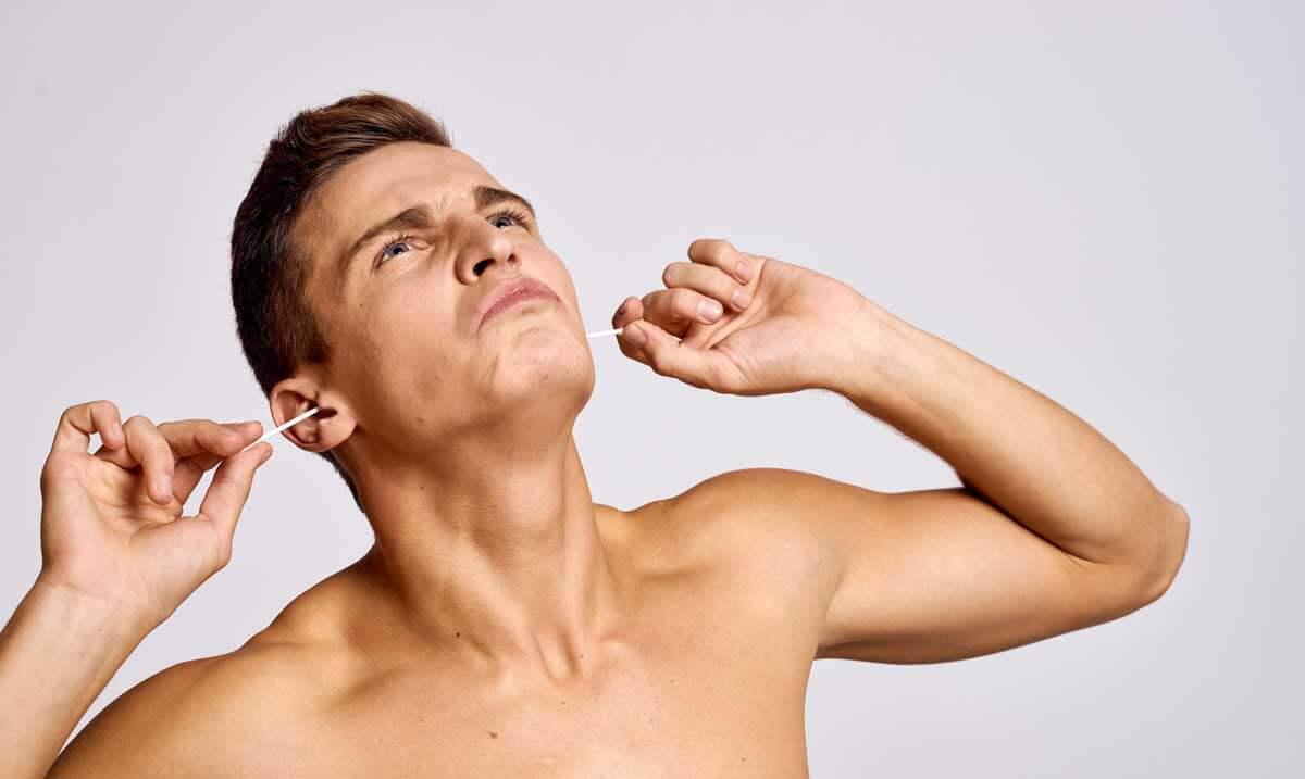 Wie reinigt man Ohren am besten?